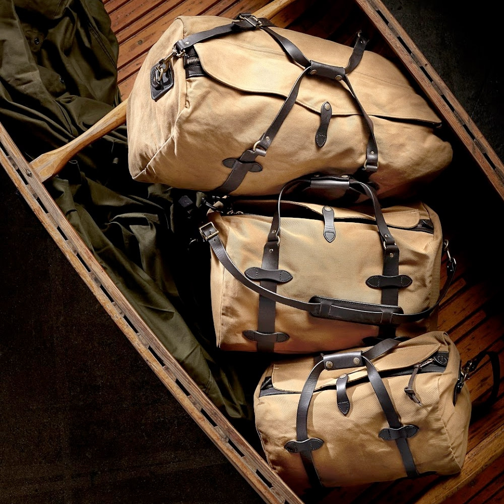 Filson - Small Duffle Bag tan