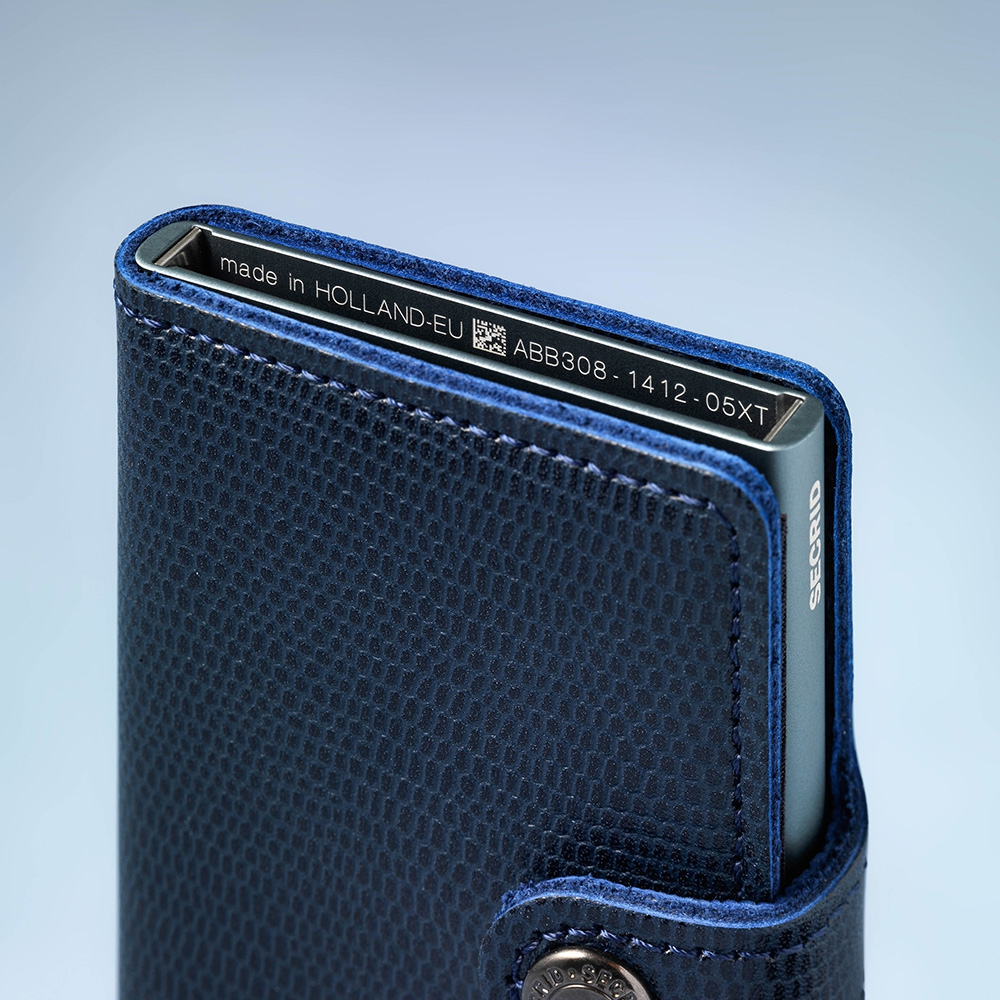secrid - Miniwallet Perforated cognac