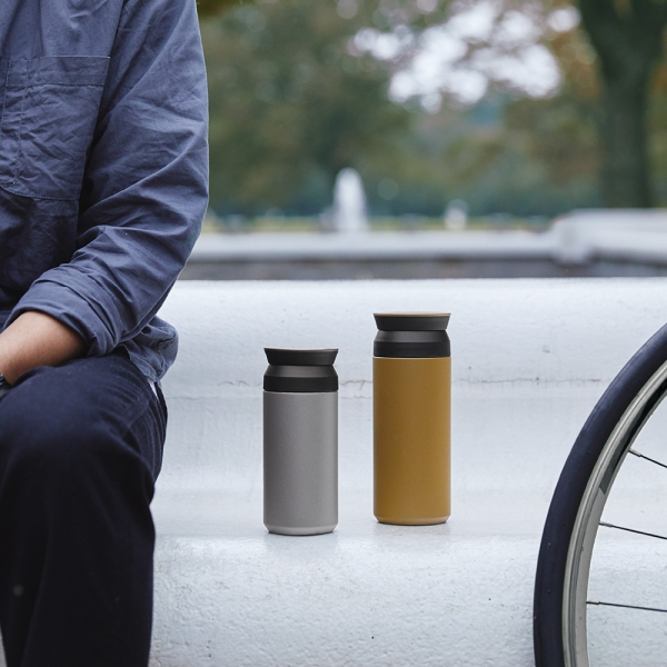 KINTO - Travel Tumbler 350 ml silver
