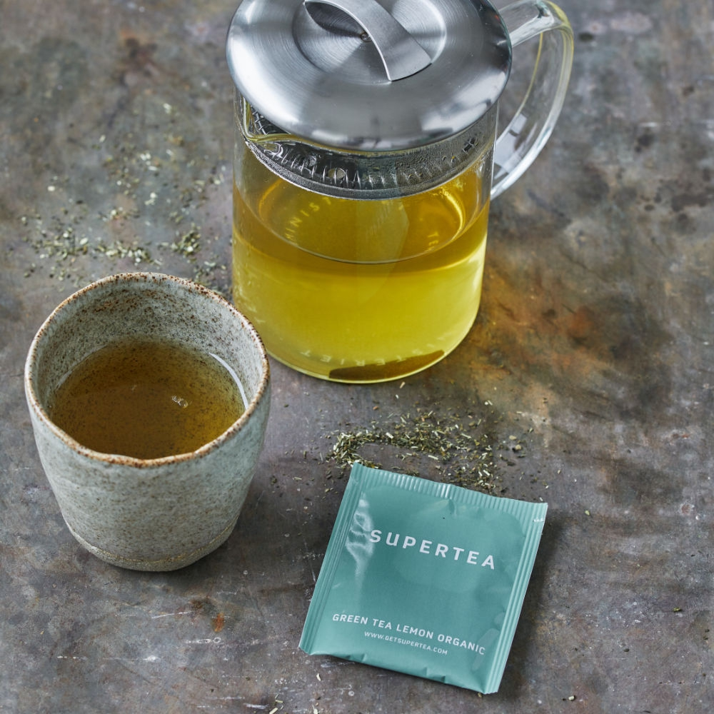 Supertea - Green Tea Lemon Organic Tea