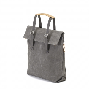 QWSTION - Day Tote washed grey