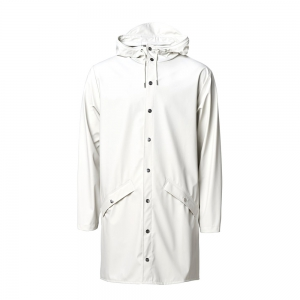 RAINS - Long Jacket off white