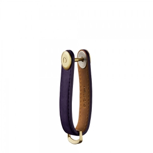 Orbitkey - Orbitkey Crazy Horse Leather 2.0 aubergine purple