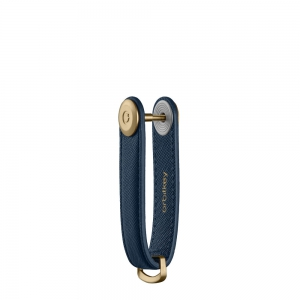 Orbitkey - Key Organiser Saffiano oxford navy