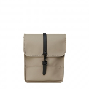 RAINS - Backpack Micro taupe