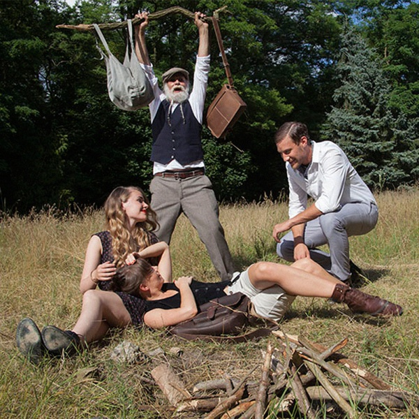 aunts & uncles - Medium Judd vintage brown