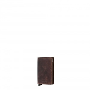 secrid - Slimwallet vintage chocolate