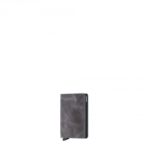 secrid - Slimwallet vintage grey black