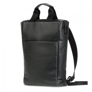 Salzen - Tote Backpack total black