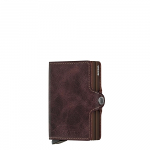 secrid - Twinwallet vintage chocolate