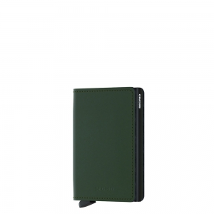 secrid - Slimwallet Matte green black