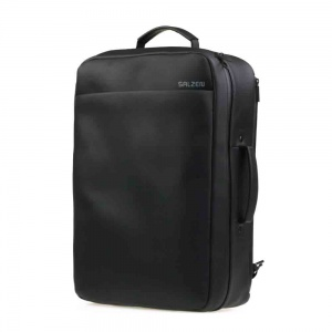 Salzen - Backpack Weekend total black