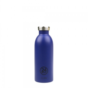 24Bottles - Clima Bottle 0,5 Liter gold blue