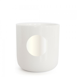 PLTY - DOT - Pearl white Glyphs Cup