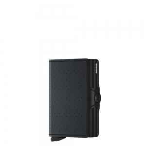 secrid - Twinwallet-Perforated perforated black
