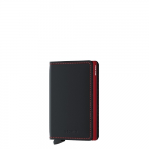 secrid - Slimwallet Matte black red