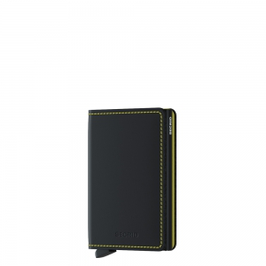 secrid - Slimwallet Matte black & yellow